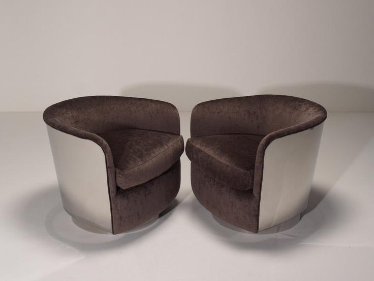 Milo Baughman Tub Chairs