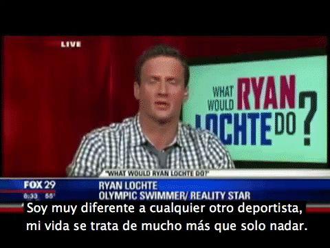 Presentadores de noticias no pueden aguantar la risa tras una incómoda entrevista con Ryan Lochte