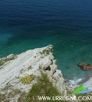Des eaux turquoises pour la Corniche d'Urrugne  www.urrugne.com