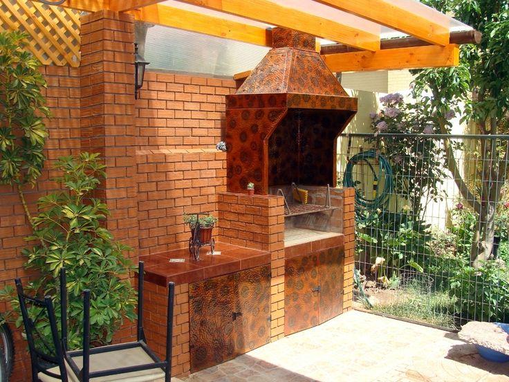 Quinchos modernas peque os buscar con google pergolas for Disenos de patios pequenos modernos