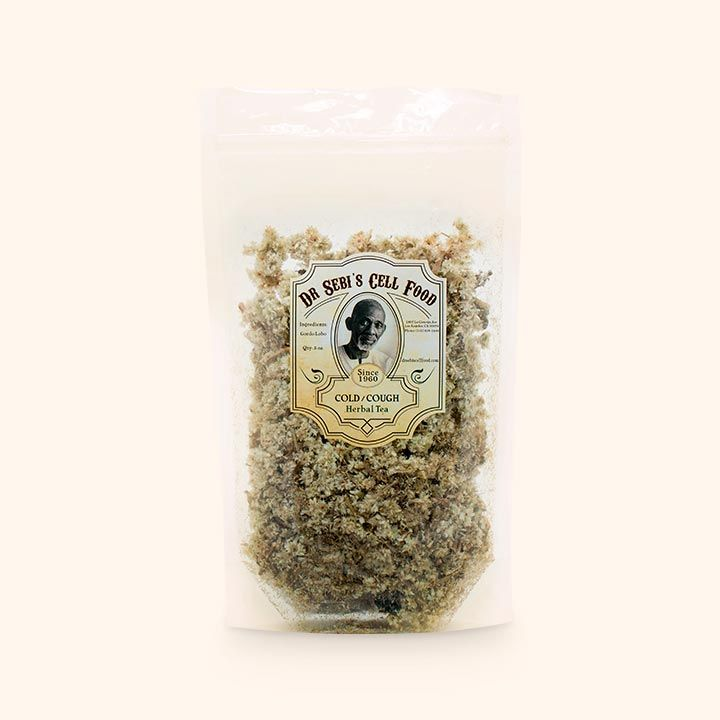 Dr. Sebi's Gordolobo herbal tea provides relief from coughs, cold, and relief for hoarse or dry throat. May also improve gastroenteritis and relief from diarrhea.