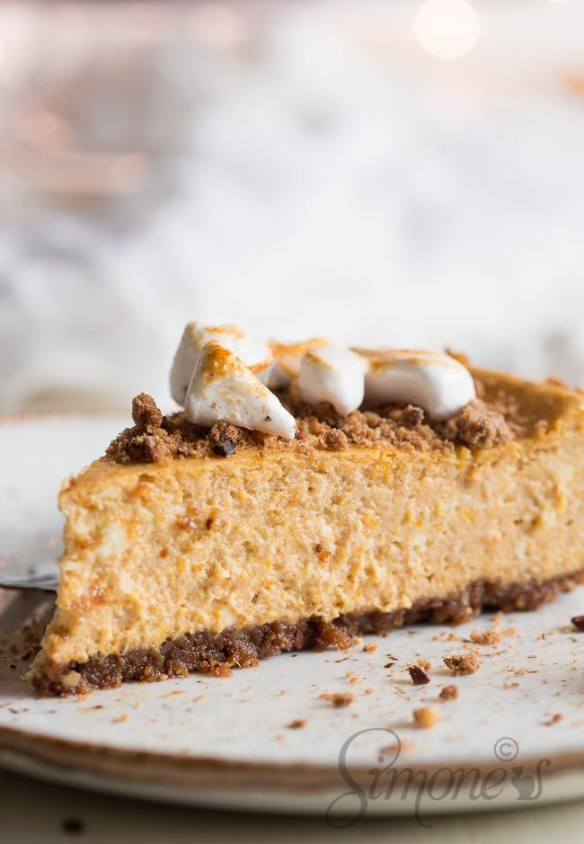 This pumpkin cheesecake is insanely good, if I may say so myself and will leave wanting more and more!