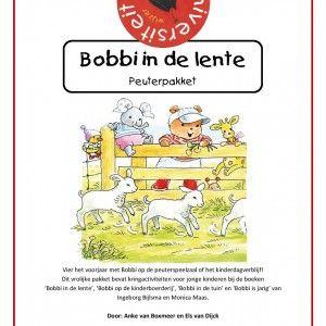 Bobbi-in-de-lente er het voorjaar met Bobbi op de peuterspeelzaal of het kinderdagverblijf! Dit vrolijke pakket bevat speelse en beweeglijke kringactiviteiten voor jonge kinderen bij de boeken 'Bobbi in de lente', 'Bobbi op de kinderboerderij', 'Bobbi in de tuin' en 'Bobbi is jarig' van Ingeborg Bijlsma en Monica Maas.