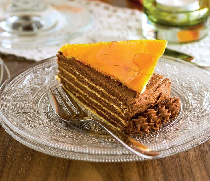 Tort Doboş - Retete culinare - Romanesti si din Bucataria internationala