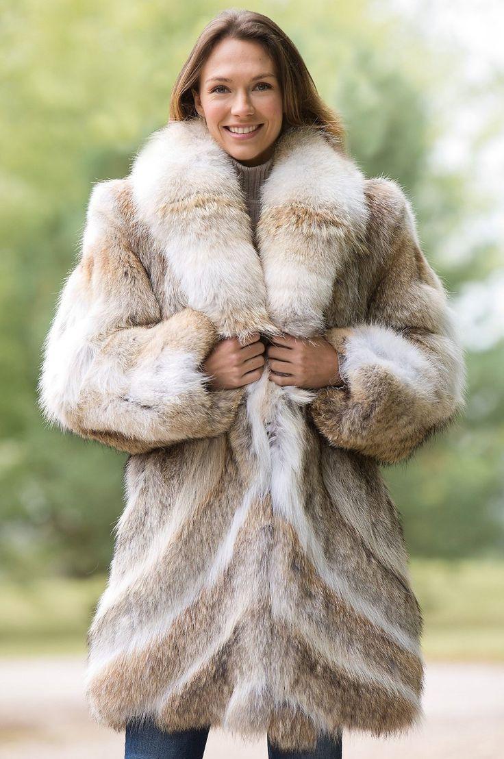 Coyote Fur Coats