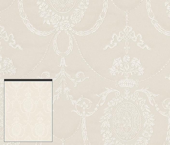 Rasch Elegance & Tradition behang Normaal per rol €46,30 Afmetingen: 10M lang en 53CM breed Artikelnummer: 513011 Patroon: 53CM Kleur: off-white Behangplaksel: Perfax roze Kwaliteit: vliesbehang ornament behang - barok behang - klassiek behang - stijlvol behang
