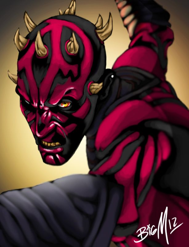 Darth Maul .:Clone Wars:. by bigMdesign.deviantart.com on @deviantART