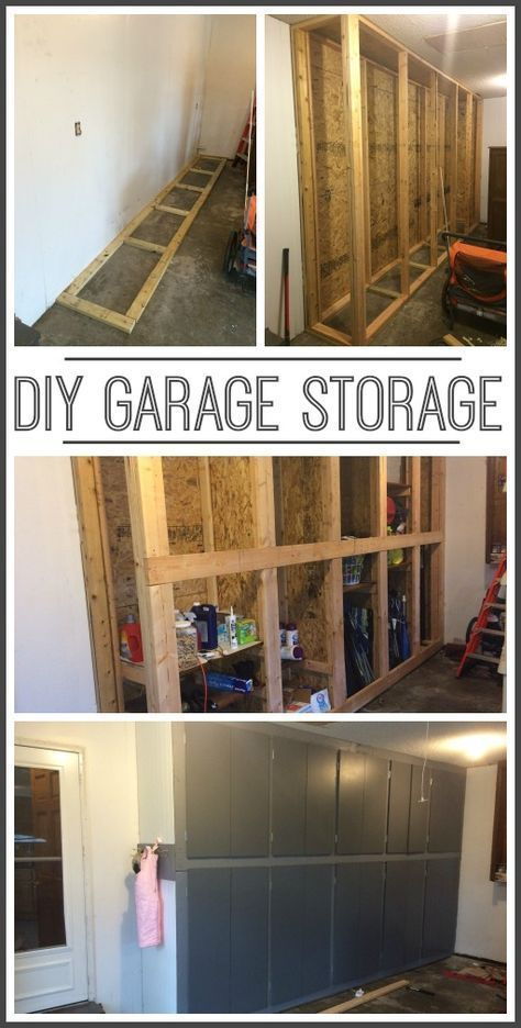 How To Make Your Own Diy Garage Storage Cabinets Shelves     Sugar Bee  Crafts | Woodworking Tools | Pinterest | Garage Storage Cabinets, Diy Garage  And ...