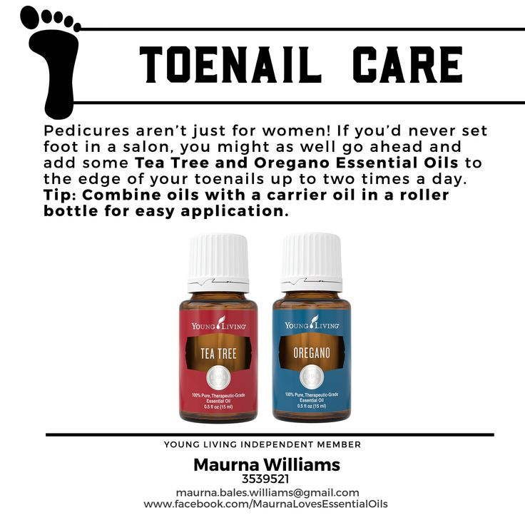 Treat toenail fungus. Young Living Essential Oils for men - Maurna Williams - Independent Distributor No. 3539521