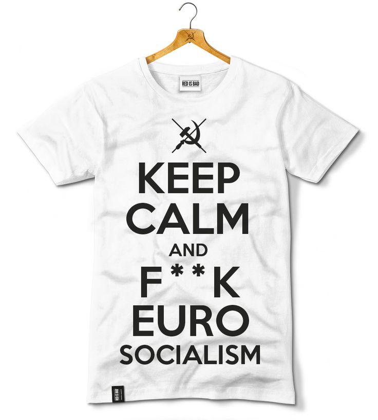 """Koszulka z naszą wersją hasła """"Keep Calm & Carry On"""" ze słynnego brytyjskiego plakatu propagandowego z II wojny światowej. Prosty przekaz, zrozumiały dla ludzi na całym świecie."""