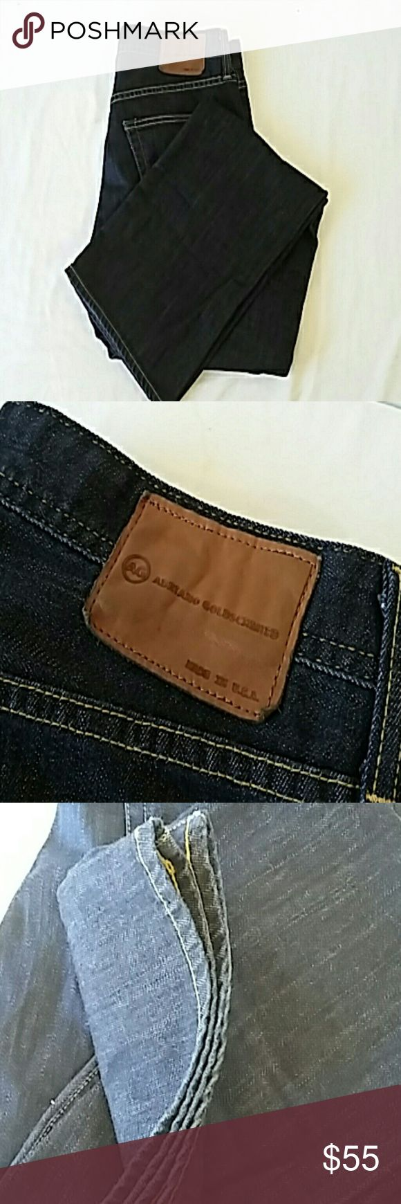 Adriano Goldschmied Mens 33 x 32 Adriano Goldschmied Mens jeans sz 33 x 32. Gently worn condition. no flaws. Adriano Goldschmied Jeans Straight