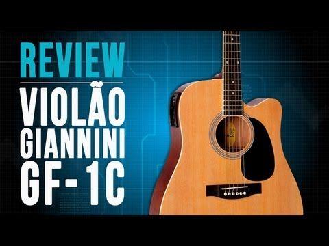 Conheça o violão GF-1C da Giannini no TVCifras Review - YouTube