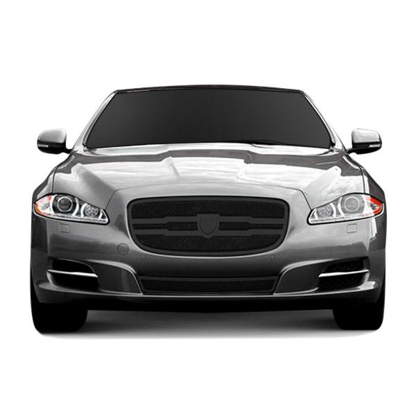 Lexani LG-670002 | 2015 Jaguar XJ Black Zurich Mesh Grilles for Sedan