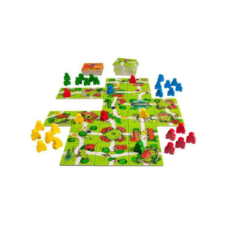 Carcassonne Junior Categorías.:Juegos de tablero, Juegos de mesa para niños, Juegos familiares, Niños, Juegos de mesa Edad: de 6 a 8 años, Núm. jugadores: 2-4 Tiempo de juego: 20' http://juegoenlamesa.blogspot.com.es/2012/12/resena-carcassonne-junior.html