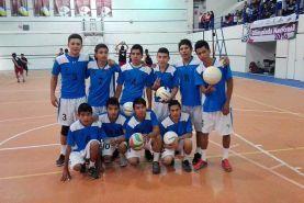 """Participación del municipio en la etapa estatal de voleibol de la """"Olimpiada Nacional"""", participando con dos equipos en dos distintas..."""