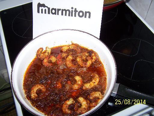 Gambas au wok : Recette de Gambas au wok - Marmiton