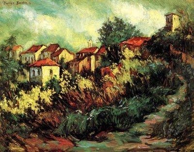 Spanish Landscape Paintings Sepulveda Landscapes Spain