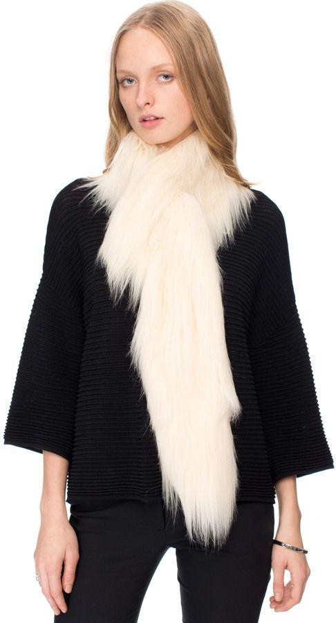 Unreal Fur Furocious Thread Through Scarf Scarves & Gloves