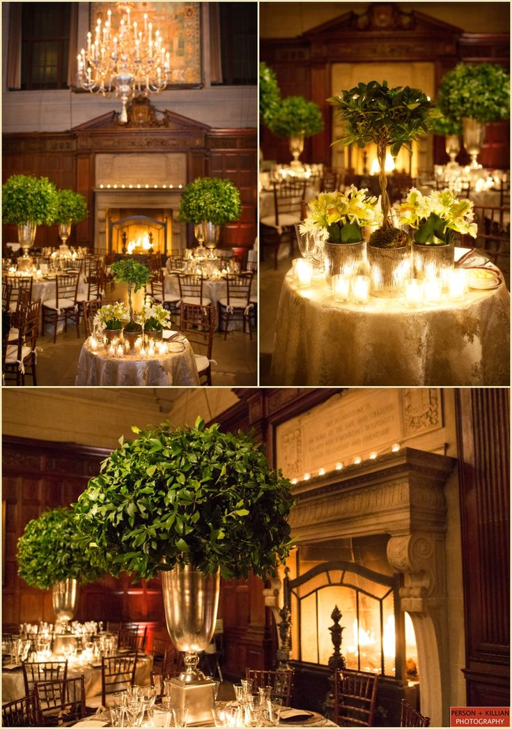 Harvard Club Boston Wedding Design And Decor Hall