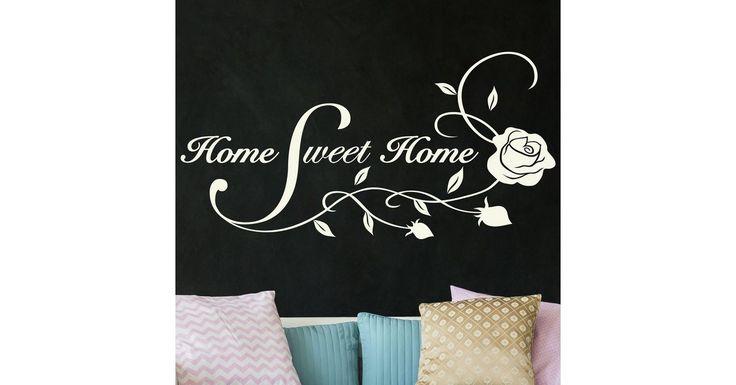 Wandtattoo »Home Sweet Home«