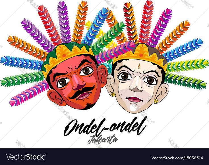 Ondel-ondel is a form of folk performance using large puppets. Download a Free Preview or High Quality Adobe Illustrator Ai, EPS, PDF and High Resolution JPEG versions.