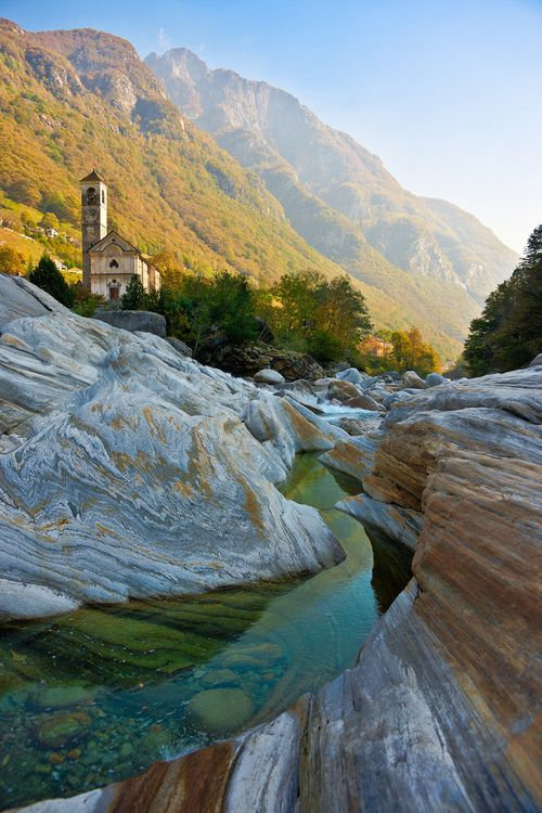 Lavertezzo, Ticino, Switzerland.