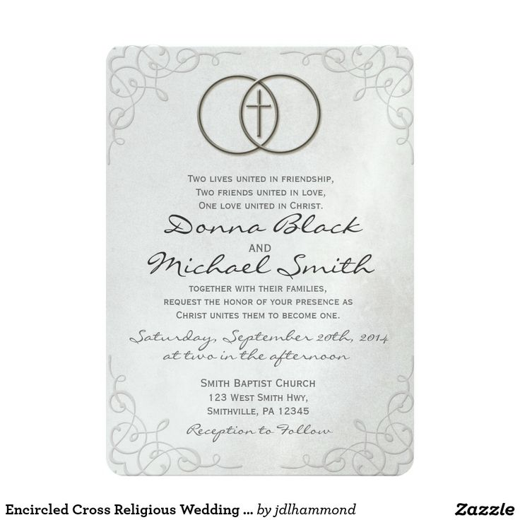 796 best silver wedding invitations images on pinterest silver encircled cross religious wedding invitations stopboris Choice Image
