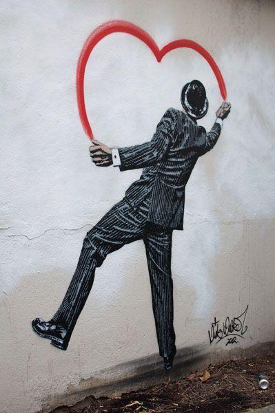 Street Art by Nick Walker. °