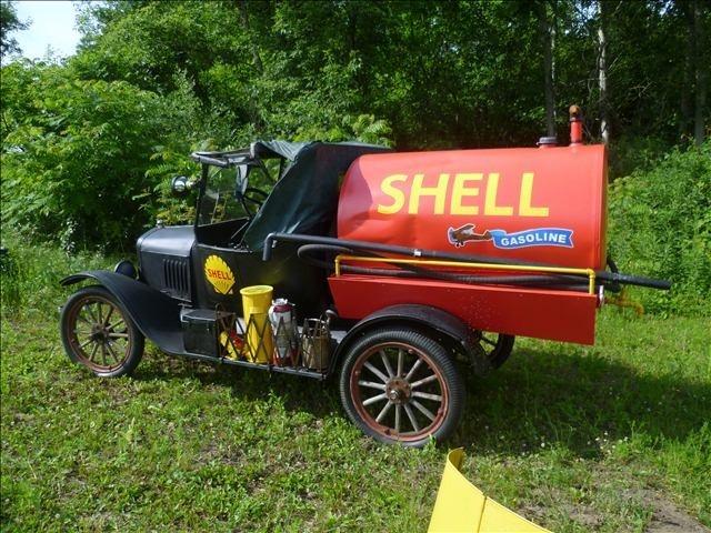 Model T Shell Fuel Tanker