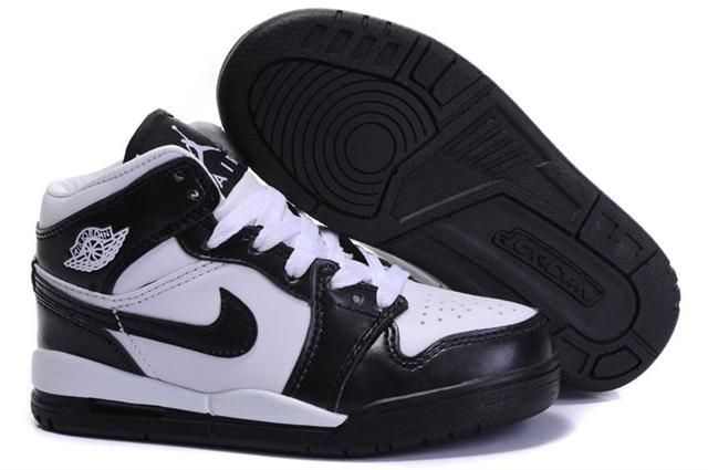 http://www.bigkidsjordanshoes.com/kids-air-jordan-1-black-white-p-81.html KIDS AIR JORDAN 1 BLACK WHITE Only $60.86 , Free Shipping!