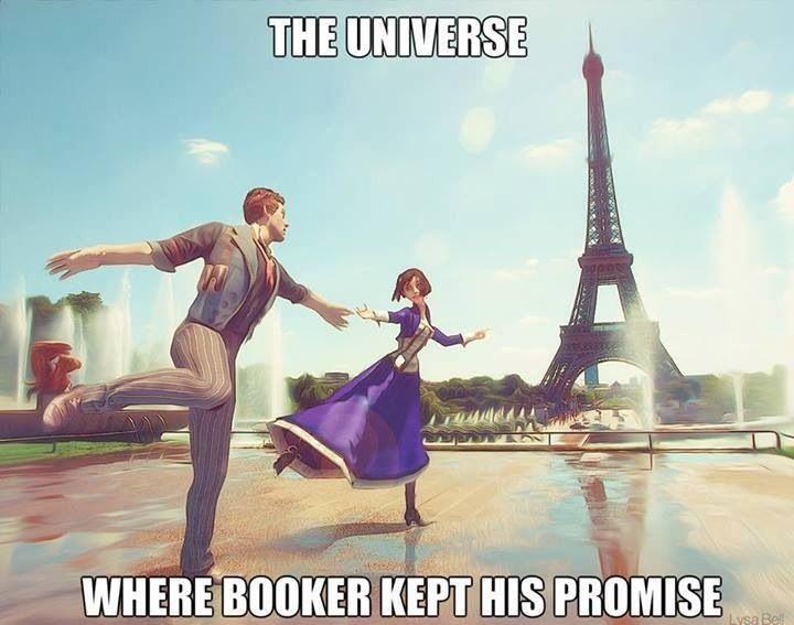 Bioshock Infinite.... ugh this makes me happy and sad.