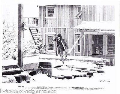 WARREN BEATTY 'McCABE & Mrs. MILLER' MOVIE STILL PHOTO