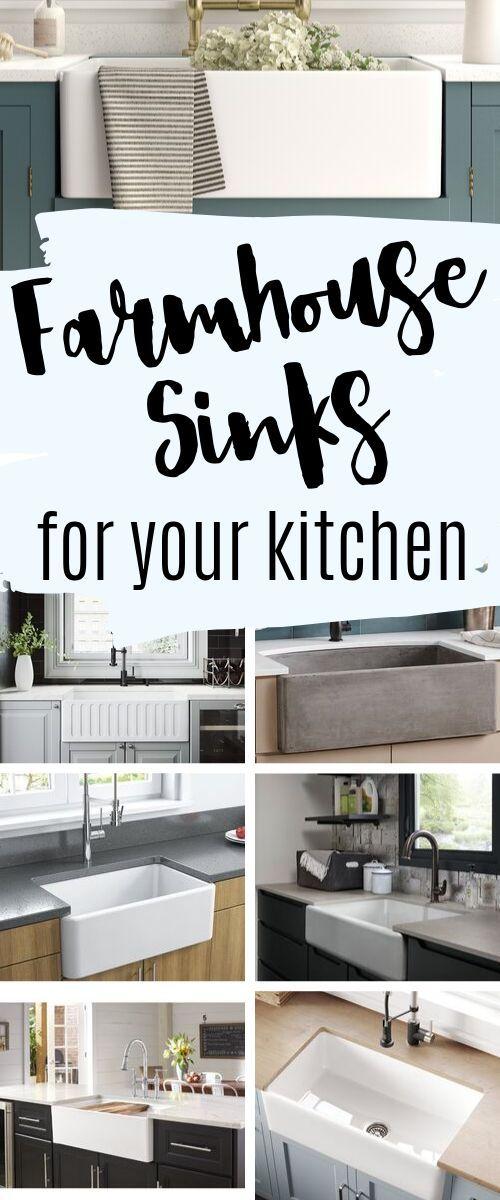 10 cute Farmhouse Sinks for your farmhouse kitchen  – Landhaus Stil – Wohnzimmer, Deko, Einrichtung