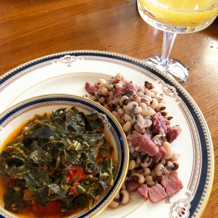Traditional Southern Collard Greens for New Year's Eve