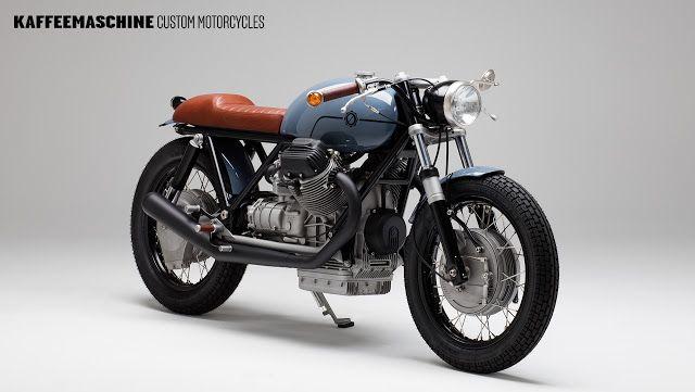 ϟ Hell Kustom ϟ: Moto Guzzi 850T By Kaffee Maschine
