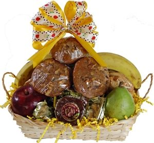 Fruit baskets delivered 25 pinterest a one of a kind gift albany ny gift baskets muffin fruit cookie gift negle Gallery