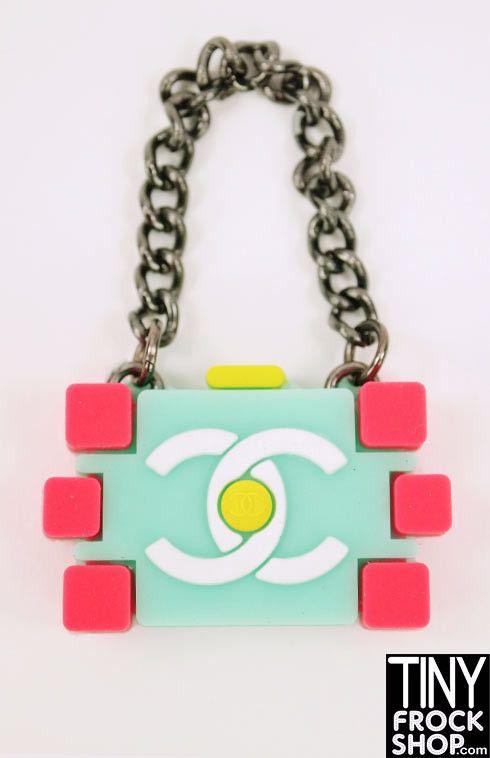Barbie Chanel Lego Bag