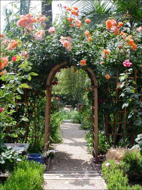 Garden Arbor Ideas building an arbor how to diy network 10 Amazing Ideas For Secret Gardens Garden Archwaygarden Arborgarden