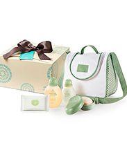 Presente Natura Mamãe e Bebê - Shampoo + Colônia + Sabonete com Saboneteira + Frasqueira + Lenço + Embalagem desmontada
