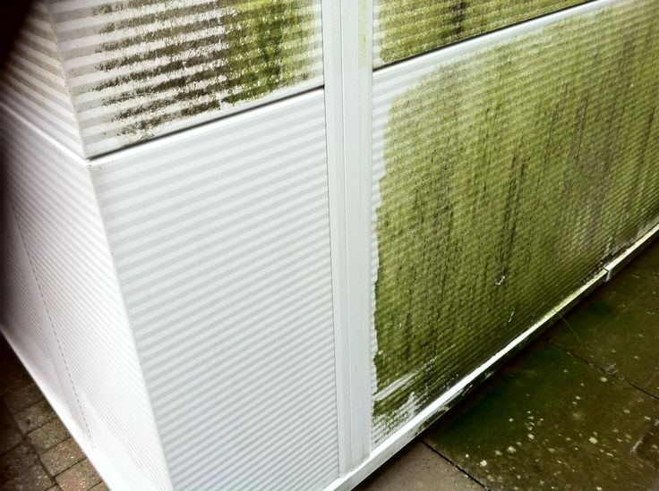 Test strip with cladding cleaning. If you need your warehouse cleaning, call us today on 01442 831777