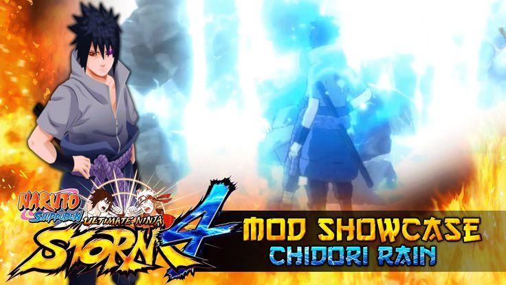 nice Chidori Rain Rinnegan Sasuke *Beta* !!! Naruto Shippuden Ultimate Ninja Storm 4 Mod