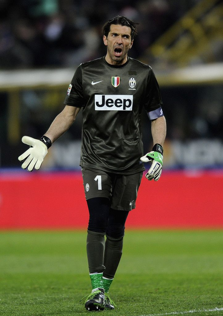 Gianluigi Buffon. I love him. Hes beautiful