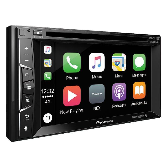 Pioneer AVH-1300NEX Double DIN Apple CarPlay Car Stereo (AVH1300NEX)