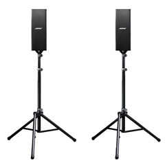 Bose Panaray 402 Speakers (Pair) + 2 Bose SS-10 Stands