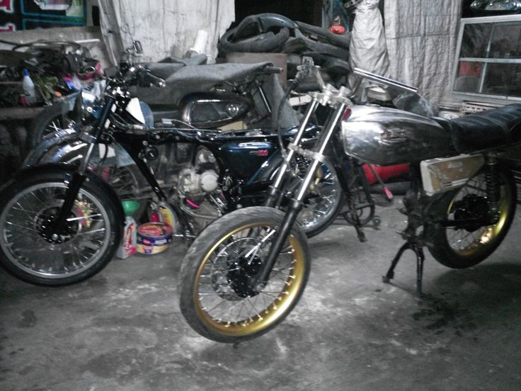 Progres 5  & 2 honda cb 220 -honda gl 100