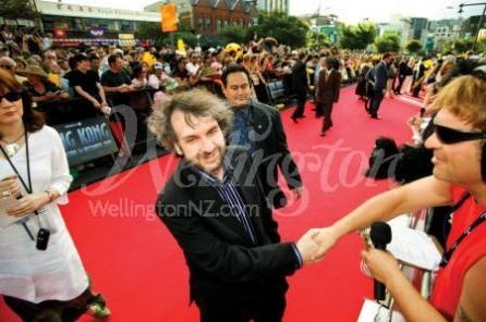 Sir Peter Jackson at King Kong Premiere in Wellington, New Zealand.