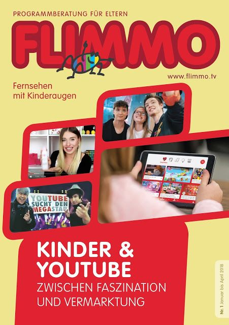 Kinder-News: PM FLIMMO 01/2018: Kinder & YouTube – Zwischen Fas...