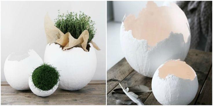 Zrób to sam – Jajka z masy papierowej | Archemon – Architektura, Design, Inspiracje