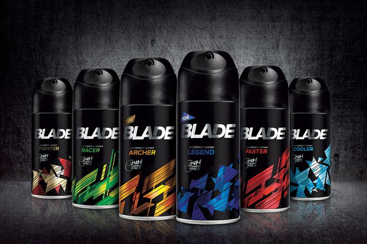 #packaging #design for Blade #deodorant for man by Orhan Irmak Tasarım | Creative Packaging & Design