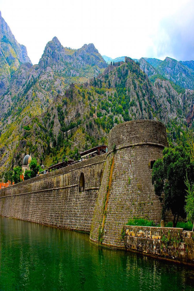 Walled city of Kotor Montenegro